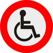 """Résultat de recherche d'images pour """"interdit handicapé logo"""""""
